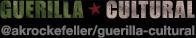 AK Rockefeller Guerilla Cultural List on Twitter