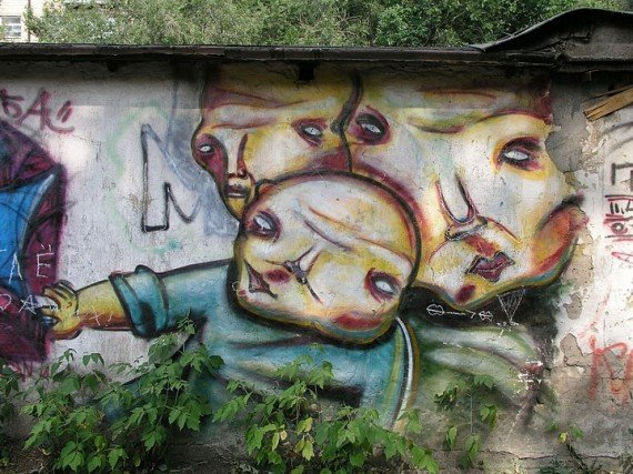 Karagandoglyphs – Graffiti from Kazakhstan