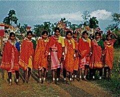 Bhil tribe girls