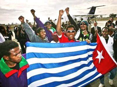 Uprisings in the Middle East Resonate for West Papuans