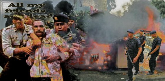 Terror and Force by Indonesian Army in West Papua