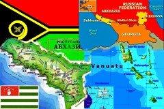 Vanuatu Abkhazia Georgia