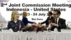 Hillary says U.S. will play ball with torturers in West Papua