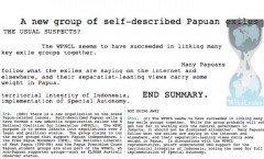 Cablegate: U.S. Disdain for West Papua Undiminished