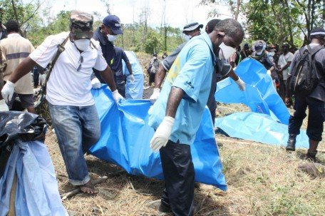 Bodies retrieved from crash site