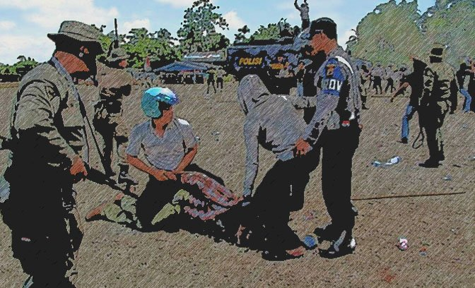 papua_protest_arrest