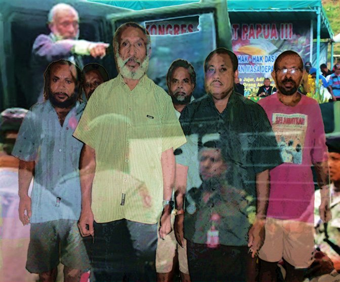 5 Papuan Activists Indicted For Treason- Face Life in Prison