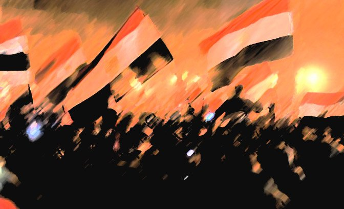 Tahrir_flags_egypt_akr