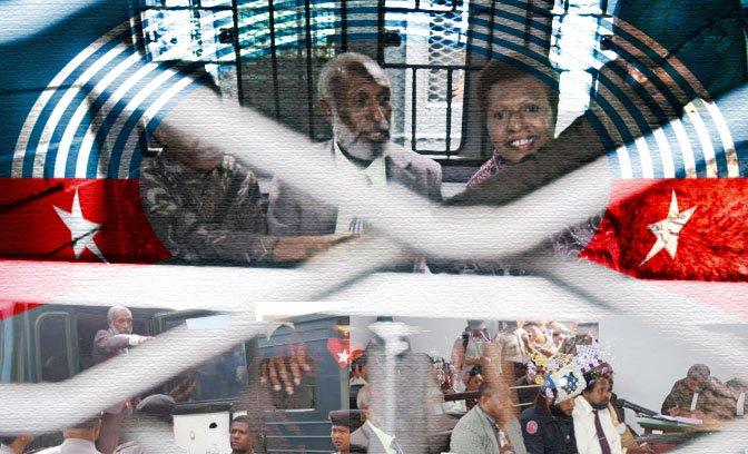 The Jayapura Five face life in prison in West Papua