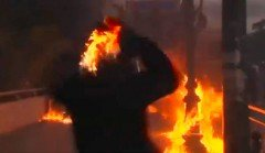 protestors-throw-fire-bombs-at-athens-police