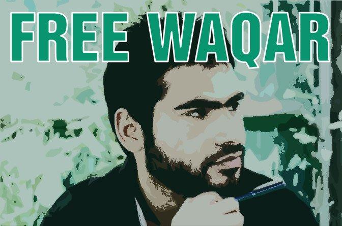 Free Waqar – Worldwide Campaign for Jailed Kashmiri Student