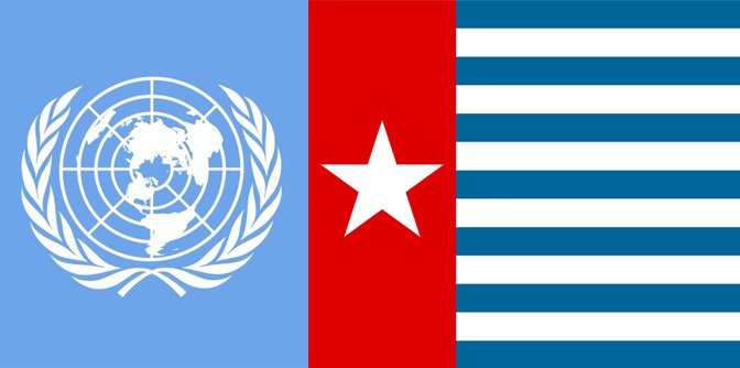 Federal Republic of West Papua is registered at the UN