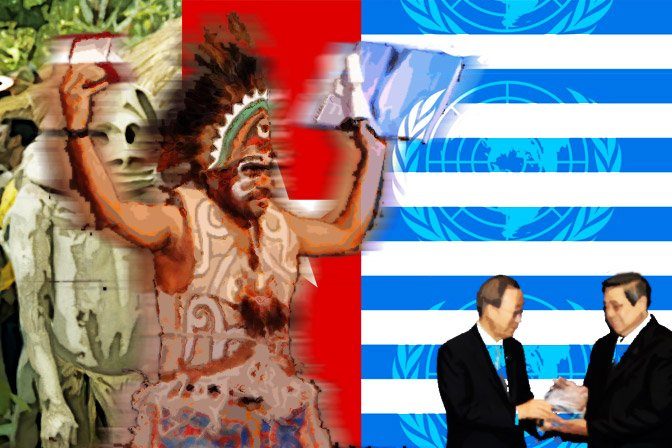 West Papua's political status can be challenged at the UN
