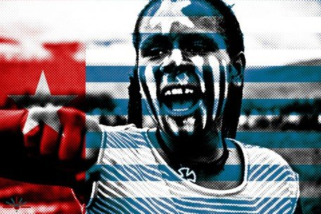 papuan-girl-on-flag-halftone
