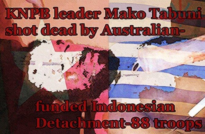 The Assassination of Mako Tabuni