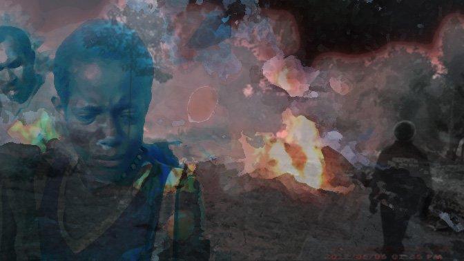 Wamena, West Papua is burning