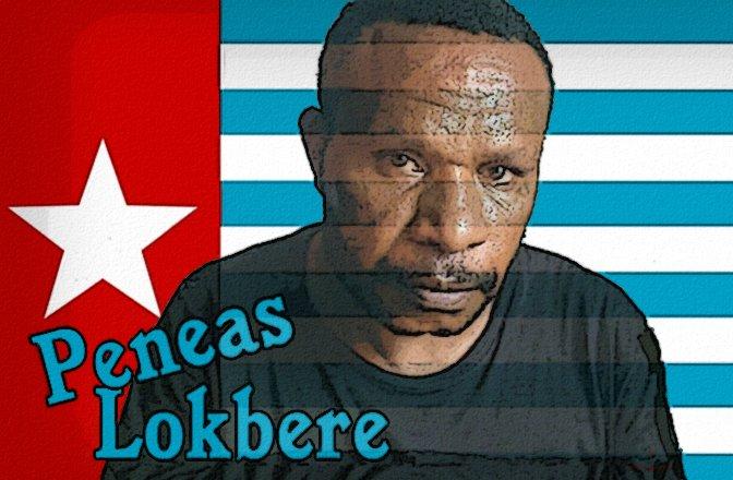 Peneas_Lokbere_papua_flag