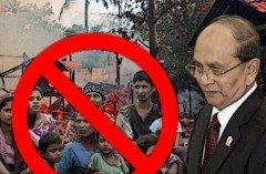 Thein Sein: Burmese Gov't Will Not Recognize 800,000 Rohingya Citizens