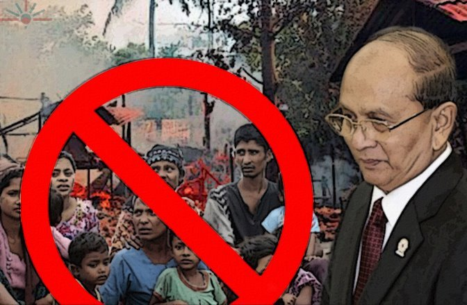 thein-sein-govt-wont-recognize-rohingya