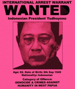 UK Papua Activists Post Reward for SBY's Arrest