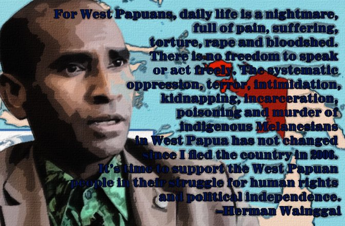 Growing International Solidarity for West Papua Freedom Campaigns