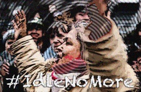 idlenomore-singing-woman