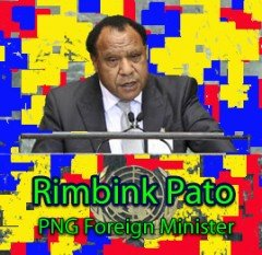 Rimbink_Pato_PNG_Foreign_Minister