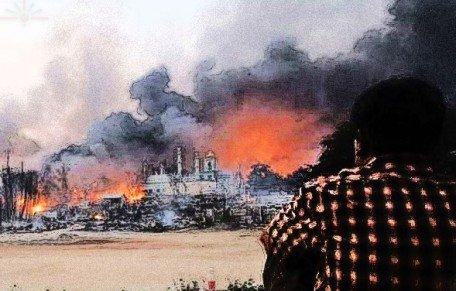 Burma_Mosque_Burnt_Down