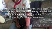 Papuan National Committee Leader Arrested