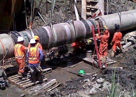PNG-LNG-Project-Offsore-Pipeline-Complete