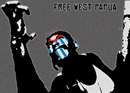 angry-protestor-free-west-papua