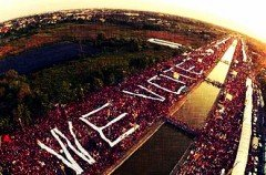 Fight for Democracy, We Want Election