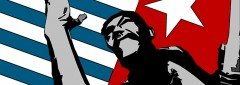 Raise the flag for West Papua