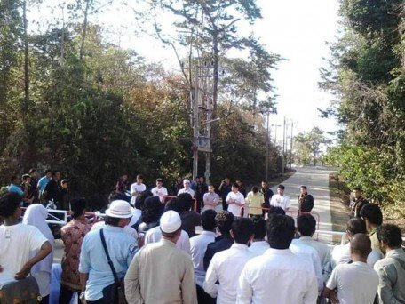 Peaceful rally to seek justice for Patani students. Photo by Free Voice.
