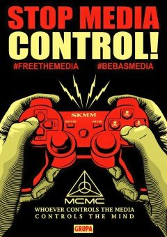 #BebasMedia – Whoever Controls the Media, Controls the Mind