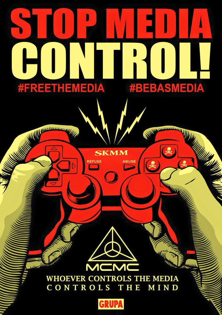 #BebasMedia – Whoever Controls the Media, Controls the Mind