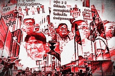 Anti Thai Junta Protest